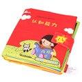 Baby Toys 0-12 Месяцев Мультфильм Мягкая Активности Книга Развивающие Игрушки Ткань Книги Познавательная Способность Серии Книга для Детей обучение