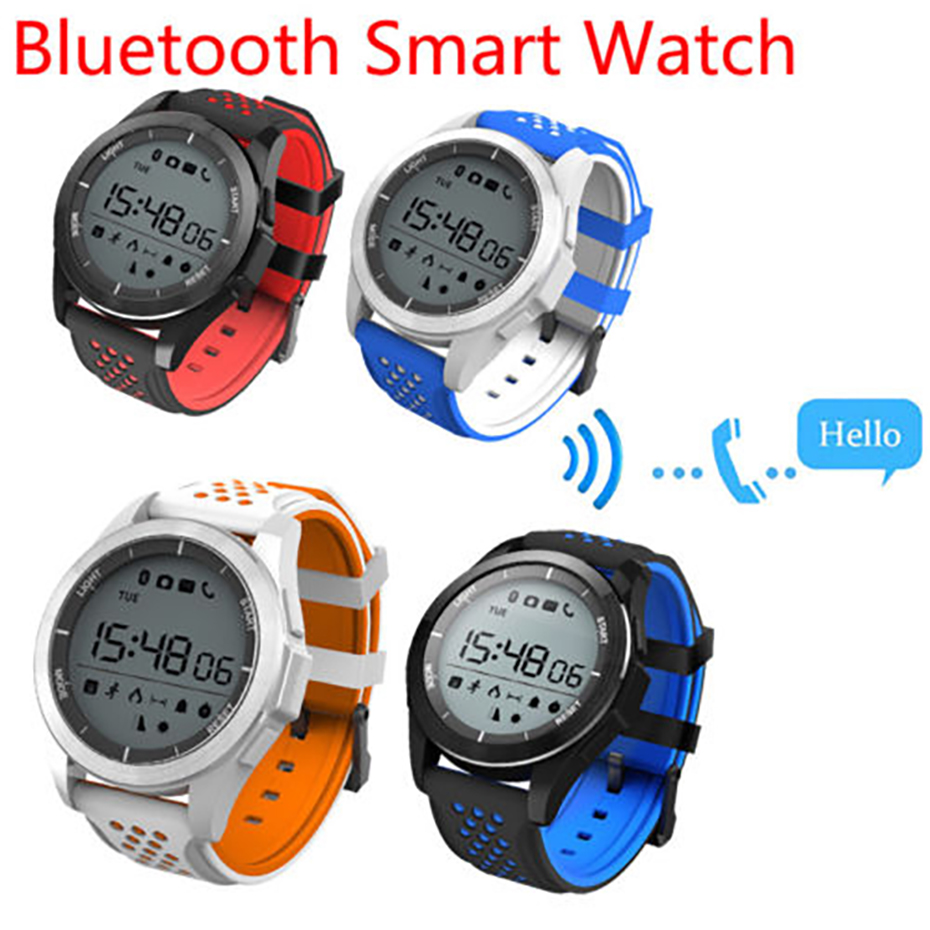 SNS Notification Sport Bracelet with Remote Camera Smart Watch Men Countdow for Android IOS Digital Watches for Men social share sport stopwatch color display smart watch men remote camera relogio smart for android ios men wrist watches
