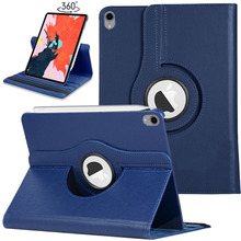 """For iPad Pro 12.9"""" 3rd Gen 2018 Case 360 Rotating Smart Magnetic PU Leather Flip Stand Cover Support Pencil Charging for Pro12.9"""