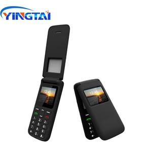 Image 2 - YINGTAI T40 big push przycisk tanie telefon z klapką dla starszych odblokowany 1.77 cal bezprzewodowy FM SOS, proszę kliknąć na alibaba express telefon komórkowy