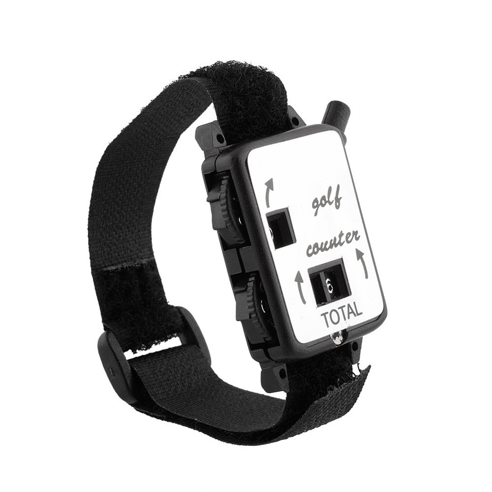 Mini Pocket Black Wristband Golf Club Stroke Score Counter Keeper Shot Scorer Accessories