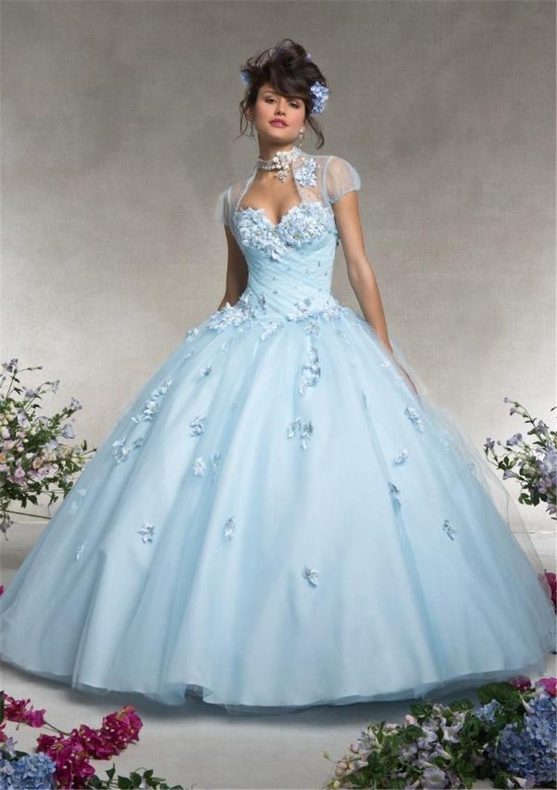 Blue Corset Short Wedding Dress | Dress images