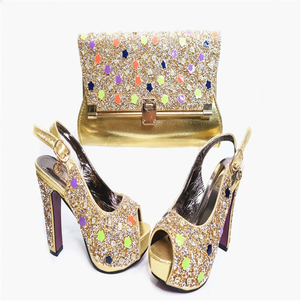 Online Shop G36 Top Quality Upscale Shoes And Bags Set Most Popular Italian Wedding Bag