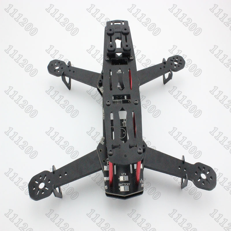 New QAV250 250mm Mini FPV Quadcopter Kit Frame PDB(Integrated Power Distribution Board for Clean build) Version For CC3D NAZE32 diy fpv mini drone qav210 zmr210 race quadcopter full carbon frame kit naze32 emax 2204ii kv2300 motor bl12a esc run with 4s