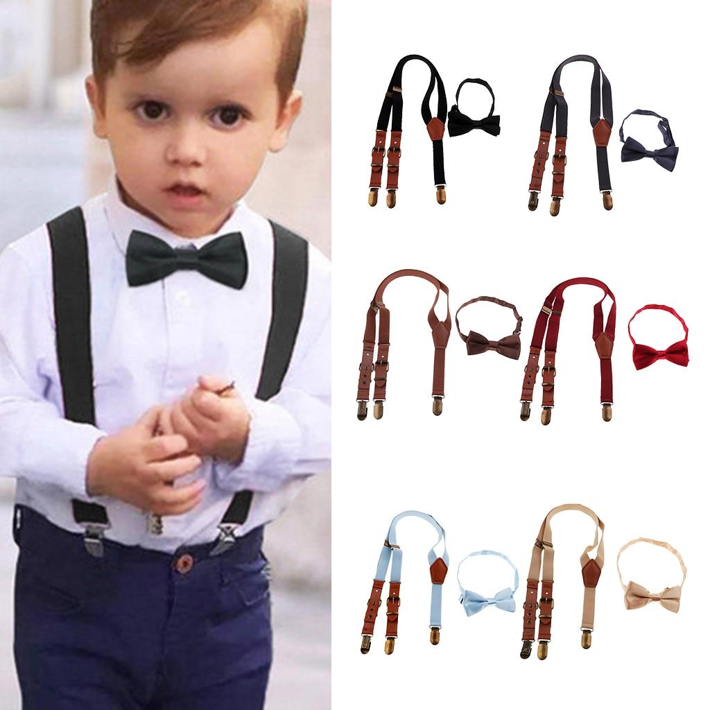 1 Stück Polyester Baby Kinder Kinder Jungen Einstellbare Elastische Hosenträger Für Hochzeiten Kostüme Spezielle Veranstaltungen Fashion Acc