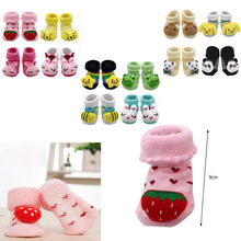 2019 new clothing Cartoon Newborn Baby Girls Boys Anti-Slip Socks Slipper Shoes Boots kids clothes sports suit