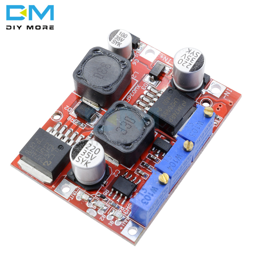 LM2596S DC-DC LM2577S Step Up Down Boost Buck Voltage Power Converter Module  Non-isolated Constant Current Board 15W 3A