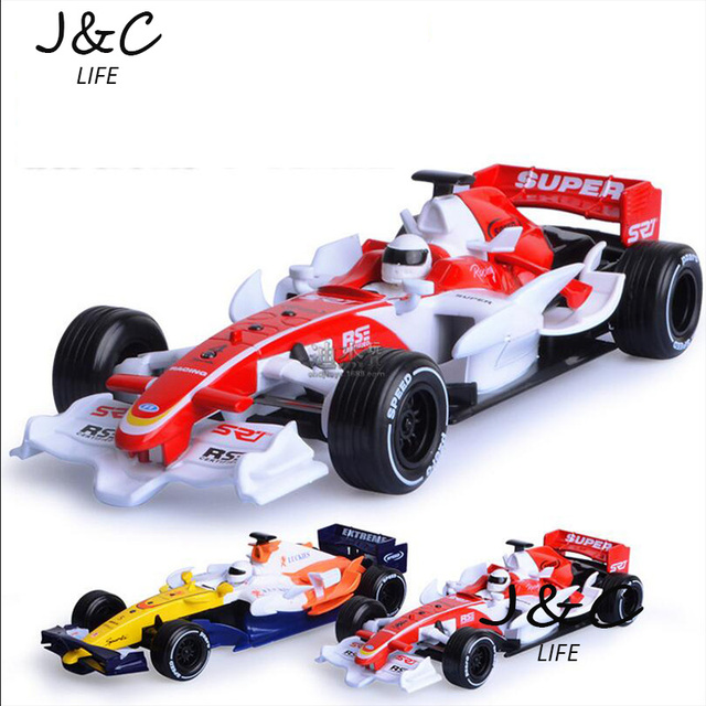 Hot New 1:32 Race Cars F1 Metal Alloy Diecast Toy Car Model Miniature Scale Model Sound and Light Emulation Electric Car