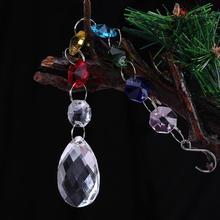 DIY Хрустальная люстра с кристаллами, шар, призма, подвеска, Радужный производитель, подвесная чакра, каскад, защита от солнца