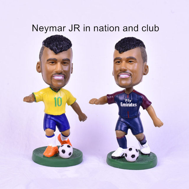 Neymar JR Bobblehead Doll 13 cm Height Resin Football Star ...