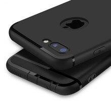 Funda de silicona blanda mate para iPhone 7 6X8 s 6 Plus 5 5S 5SE colores caramelo funda para el iPhone 7 completo