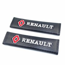 Car Styling Seat Belt Cover Pad fit for Renault duster megane 2 logan renault clio 2110 Car-styling