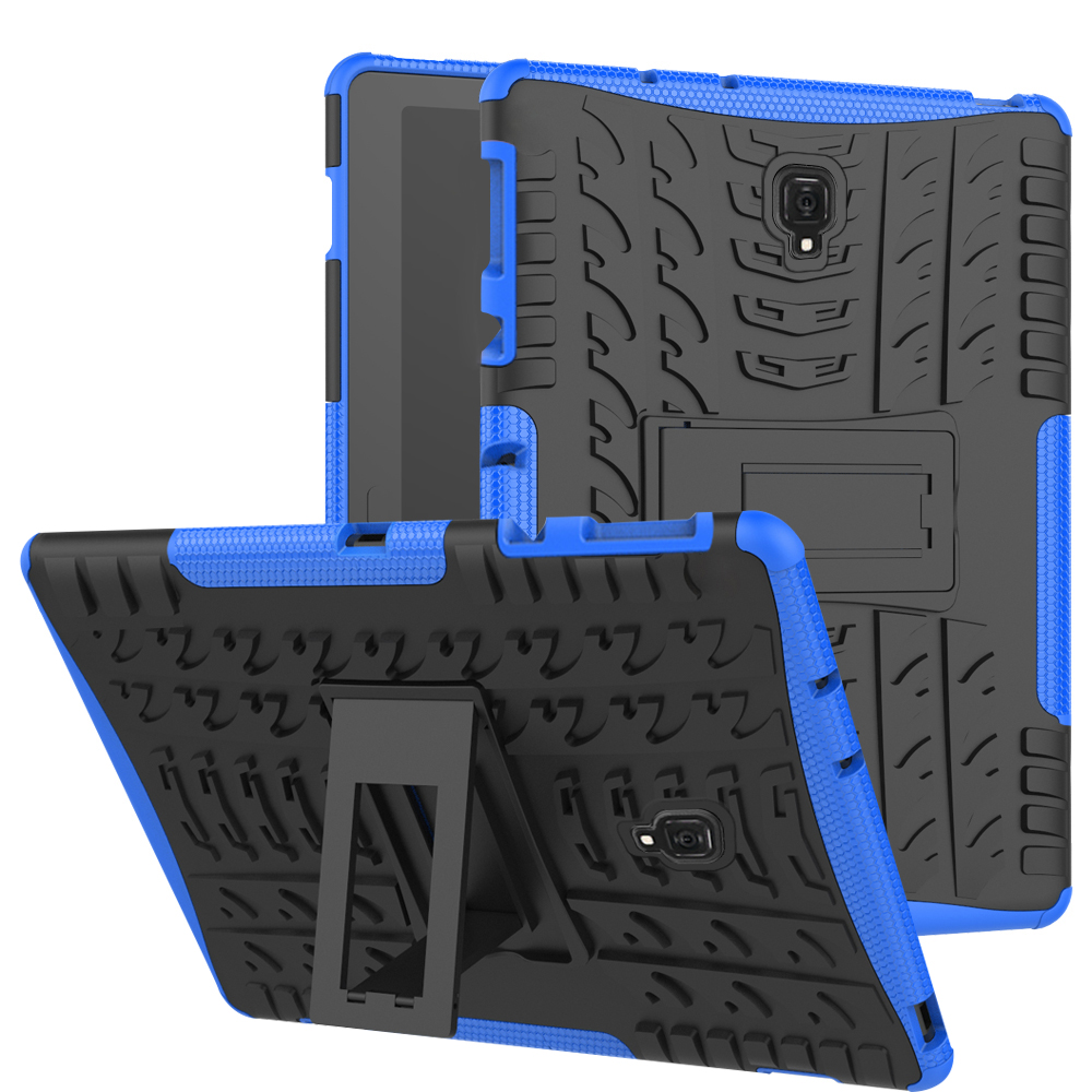 Rugged stand <font><b>case</b></font> for Samsung Galaxy Tab A A2 10.5 inch 2018 <font><b>SM</b></font> <font><b>T590</b></font> T595 T597 Heavy Duty Funda Tablet 2 in 1 Hybrid <font><b>case</b></font> image