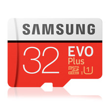 Original SAMSUNG Micro SD Memory Card EVO+ Plus 32GB Class10 Waterproof TF Flash Memoria SD Card C10 SDHC UHS-1 For mobile phone