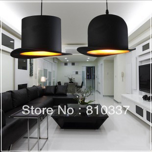 NEW 1PCS Lights Jeeves and Wooster Bowler/Tall Hat Ceiling Light Lamp Lighting chandelier ems free shipping mating season jeeves and wooster novel