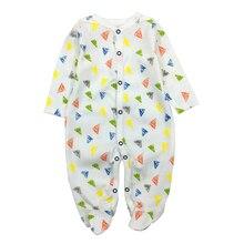 Freies Verschiffen Neugeborenes Baby Kleidung Baby Strampler Mädchen Kleidung Langarm Overall Infantis Menino Overalls