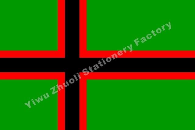 """מזרח Karelians פינלנד הלאומי דגל 150X90 ס""""מ (3x5FT) 120 גרם כפול תפור 100D פוליאסטר באיכות גבוהה משלוח חינם באנר"""