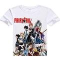 Повседневная мужчины футболка горячая аниме Fairy Tail цифровые печатные Fairy Tail футболка Люси Хертфиллиа Fairy Tail Эрза Скарлет футболки