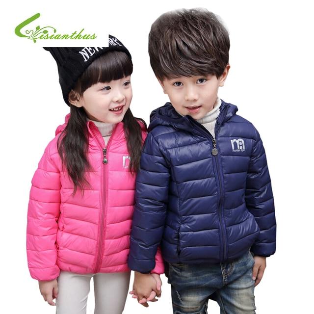 Baby Girl Jacket Winter Children Cotton Outerwear Coat Boy Coat Baby Girl Jacket Warm Hooded Children Clothing Unisex Clothes