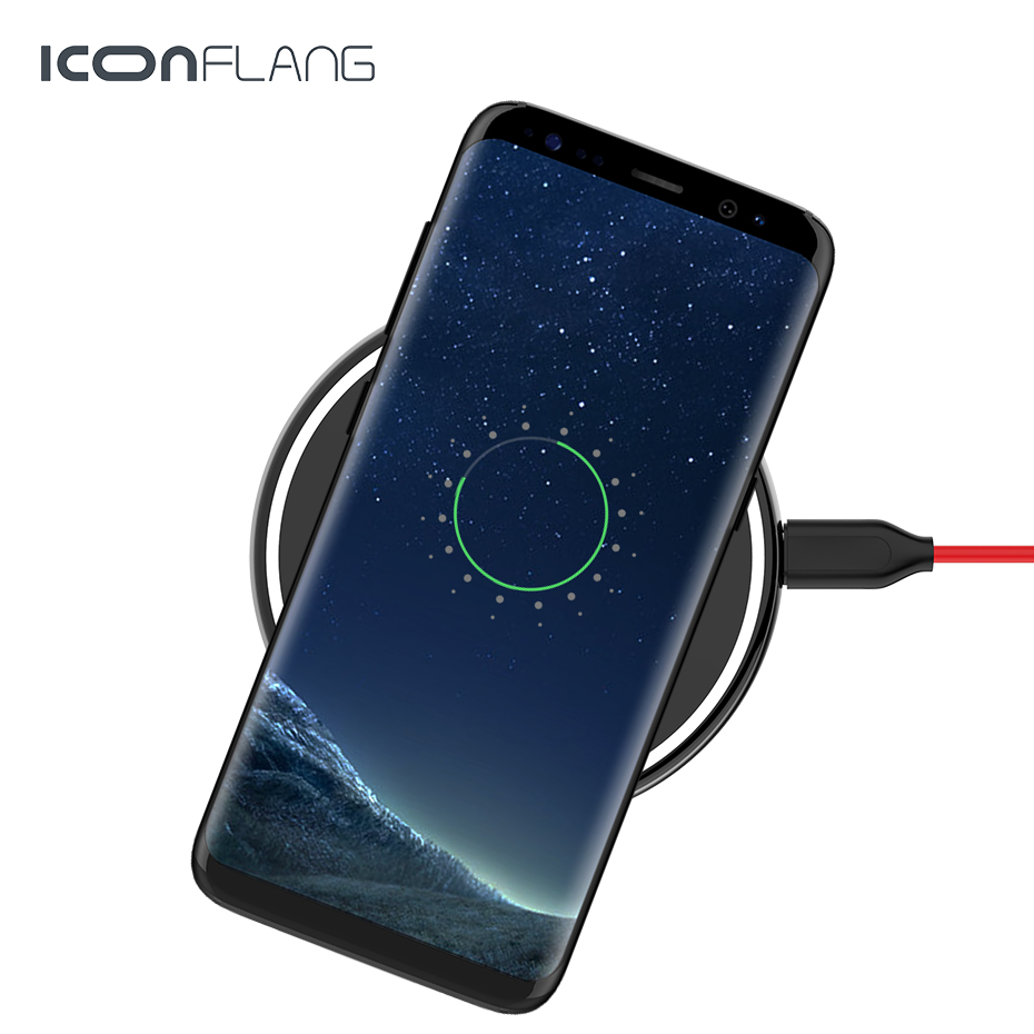 wireless charger for iphone xr xs max portable fast. Black Bedroom Furniture Sets. Home Design Ideas