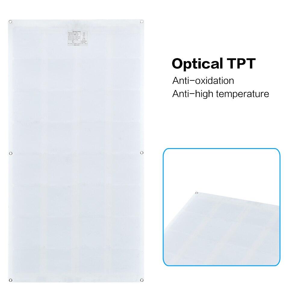 Boguang 16 V 100 W panneau solaire avec contrôleur 10A Sonnenkollektor 100 Watt flexible placa solaire 12 v monocristallin batterie 100 w - 4
