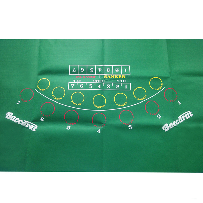 180*90cm Baccarat Table Cloth   Poker Table Cloth   Baccarat Table Mat    Non Woven Cloth 500g Good Quality