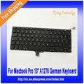 """Alemán Teclado Para Macbook Pro 13 """"A1278 Teclado 2009 2010 2011 2012"""