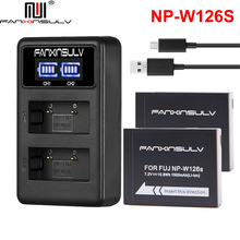 2Pcs NP-W126 NP-W126S Battery + USB Charger For fujifilm fuji XT20 XT3 X100F XT2 XE2 XT30 XT1 XA1 XA2 XA3 XA5 XA10 XA20 TRACKING цены онлайн