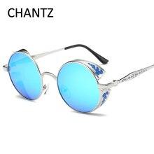 Vintage Polarized Steampunk Sluneční brýle Polarisiert ženy Sonnenbrille Značka brýle značky Driving Sluneční brýle pro muže Gafas De Sol