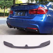 T-W Style Carbon fiber Trunks Sopiler Fit For BMW 3-Series F30 F38