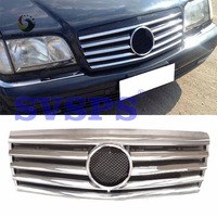 High Quality ABS Front Middle Grille For Mercedes Benz S Class W140 S300 1992 1998 Year