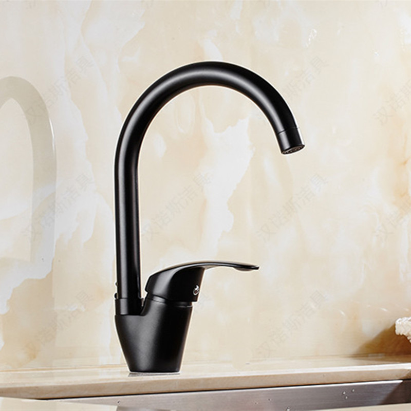 ⑦Free Shipping luxury solid brass kitchen sink faucet with single ...