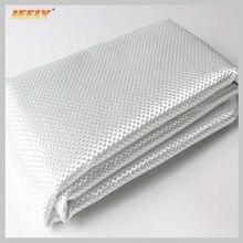 Jeely e-class 135gsm pano tecido liso da tela da fibra de vidro para pranchas de surf