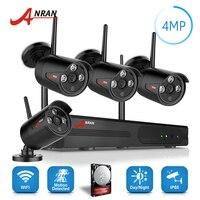 ANRAN Plug Play P2P 4 0MP HD Wireless Array IR Security Camera System 4CH 1440P WIFI