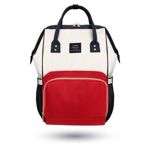 Landou большой вместимости Baby Care пеленки мешок Сумки для подгузников водонепроницаемый мать для беременных сумка рюкзак детские пеленки мате...