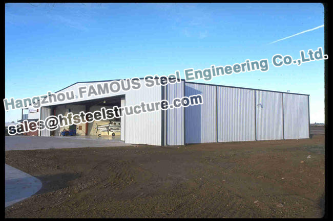 Durable Steel Structure Aircraft Hanger Fabrication