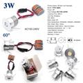 1W 2W 3W 4W AC 110V 120V 220V 230V 240V Mini led lampe Lampe Downlight für KTV Bar DJ Spot Beleuchtung-in LED-Downlights aus Licht & Beleuchtung bei