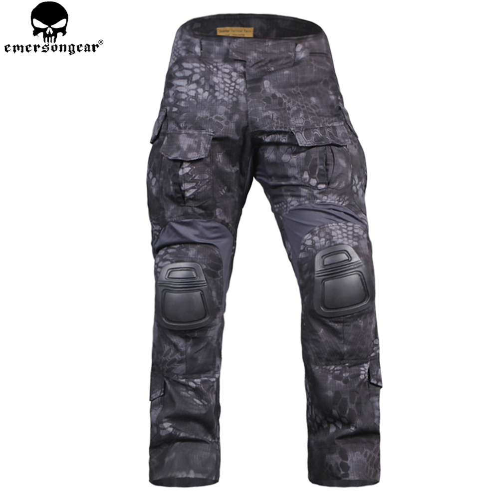 EMERSON  Combat Uniform Tactical Pants with Knee Pads emersongear Gen3 Military Hunting Trousers Training Clothing EM9351TYPEMERSON  Combat Uniform Tactical Pants with Knee Pads emersongear Gen3 Military Hunting Trousers Training Clothing EM9351TYP