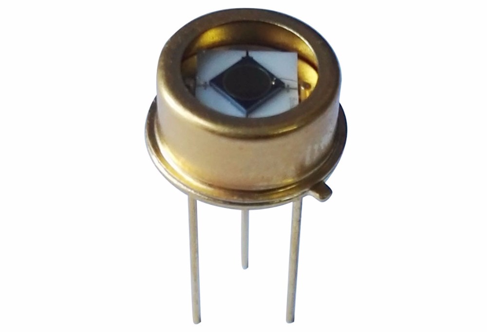 200-1100nm 3.2mm UV-enhanced Silicon Photodetector Diode Low Dark Current