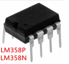 Free shipping 10PCS LM358N LM358P LM358 DIP-8 The new quality is very good work 100% of the IC chip