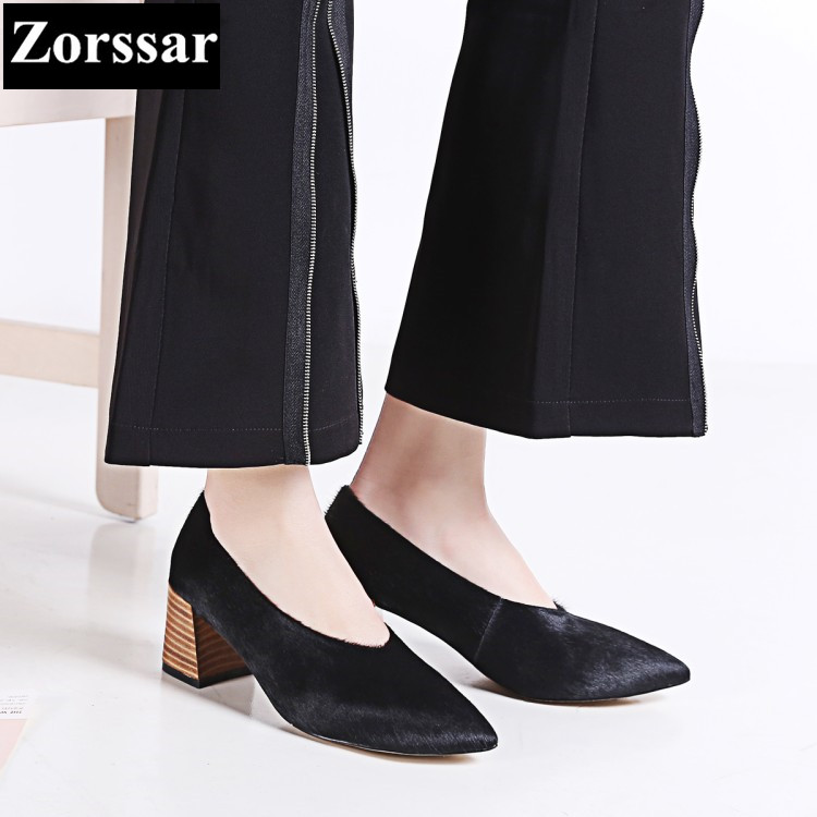Womens shoes high heels pumps women Work shoes 2017 NEW Fashion Leopard grain horsehair Pointed Toe shoes woman High heel plus size 2017 new summer suede women shoes pointed toe high heels sandals woman work shoes fashion flowers womens heels pumps