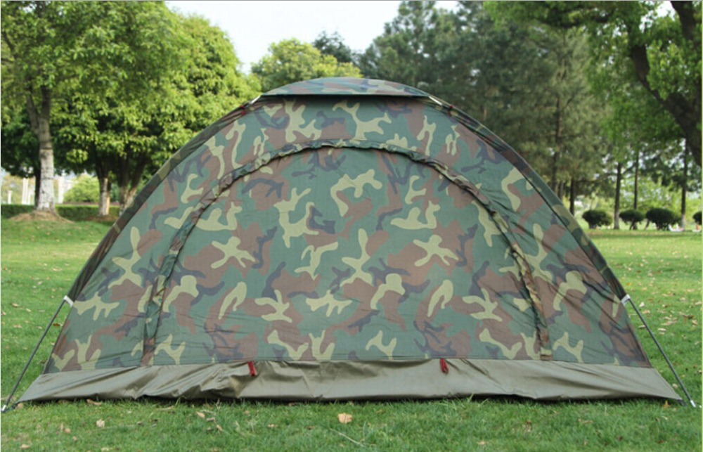 Camo Outdoor C&ing Waterproof 2 Person 4 Season Folding Tent Camouflage Hiking-in Tents from Sports u0026 Entertainment on Aliexpress.com | Alibaba Group & Camo Outdoor Camping Waterproof 2 Person 4 Season Folding Tent ...