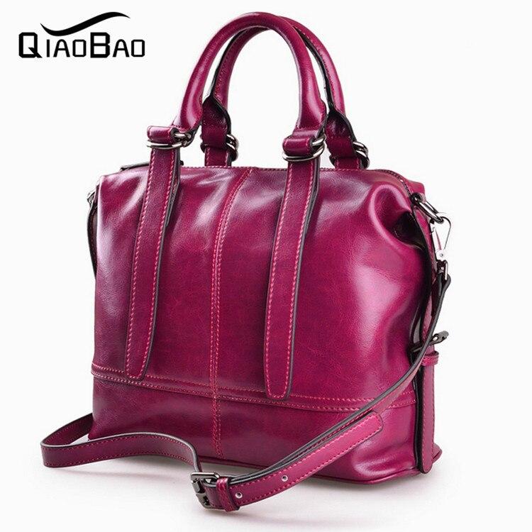 100% Cowhide Leather Designer Large Capacity Women Messenger Bags Femel Shoulder Bags Luxury Fashion Brand High Quality