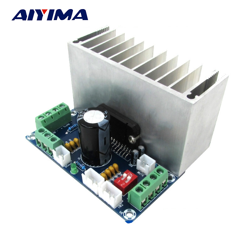 Aiyima Enthusiast TDA7388 Four Channels Car Amplifier Board 4 x41W Stereo Surround DC18-28V