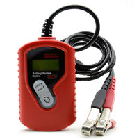 BA100 Авто мотив Батарея анализатор Батарея тестер Ba100 Батарея Checker Vehicle12v цифровой для всех автомобилей анализатор данных