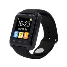 Smartwatch Sport Passometer armbanduhr Bluetooth Sync Anruf Nachricht Digitale Smart Uhr Für Andriod Telefon tragbare geräte PK U8
