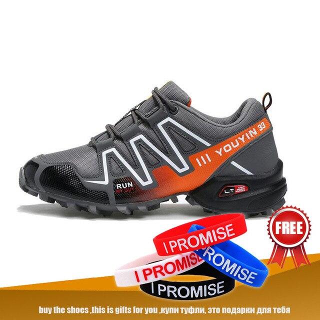 Outdoor Mann Wandern Schuhe Atmungs Jogging Turnschuhe Mesh Sport Männer Schuhe Größe 39-48