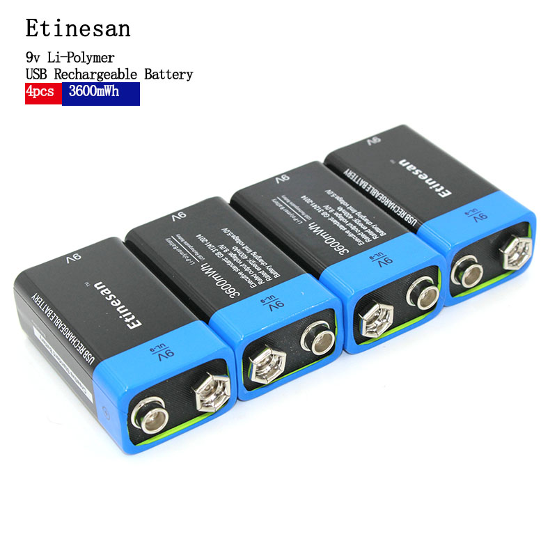 Activity 1PCS Etinesan 9V 400mAh USB Rechargeable 9V Lipo Battery For RC Camera Drone Accessories Free freight подвеска роза divetro подвеска роза