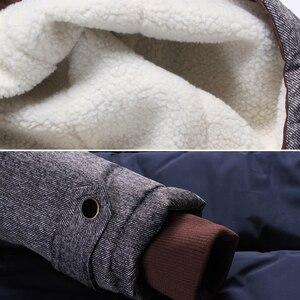 Image 4 - ブランド冬のジャケットの男性ファッションM 5XL新到着カジュアルスリム綿厚いメンズコートパーカーフード付き暖かいcasaco masculino