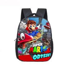 12 дюймов Mario Bros Соник печать детский сад Infantile маленький рюкзак для детей мультфильм школьные сумки детей